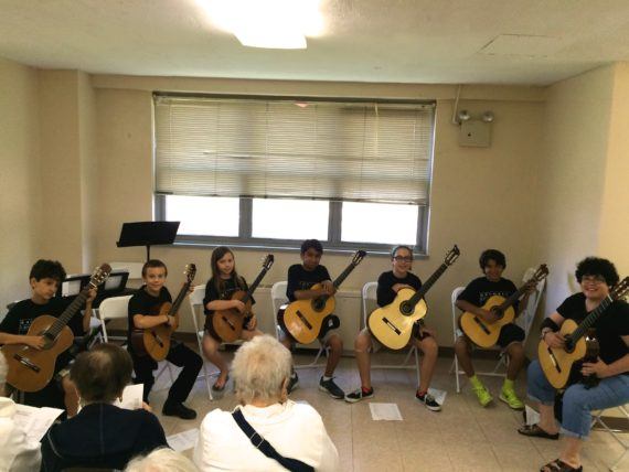 Coney Island Guitar Performance
