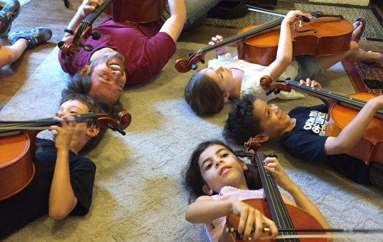 Newtonian cello class