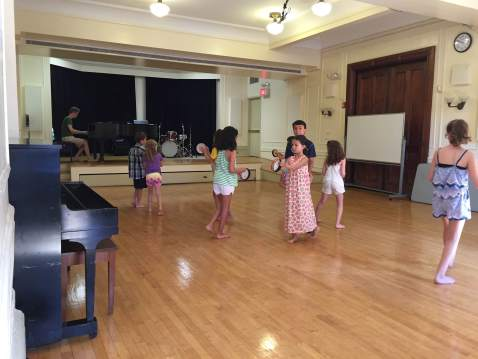 Exploring Movement at Summer Camp