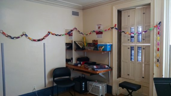Paper chain for each day of practice