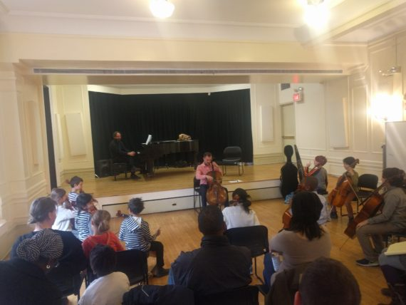 Photos and videos from Cello Masterclass with Alex Croxton