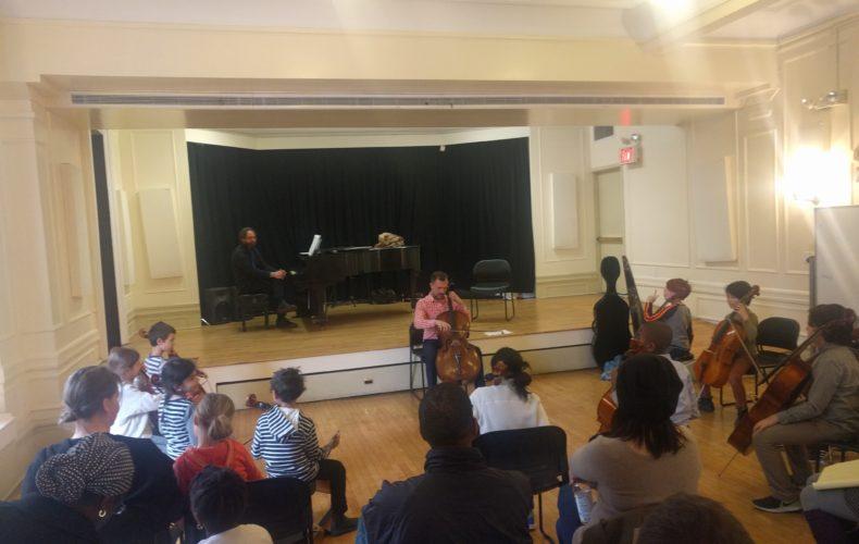 Photos and videos from Cello Masterclass with Alex Croxton