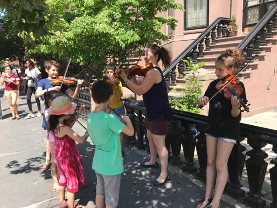 Violin Flash Mob