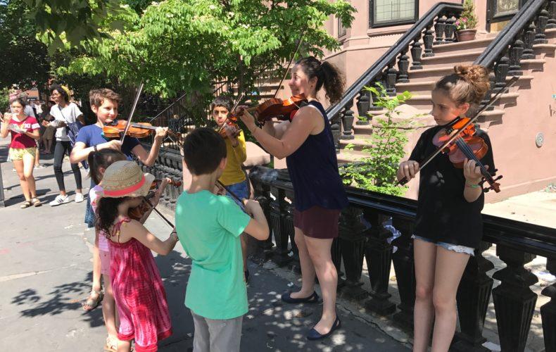 Violin Flash Mob