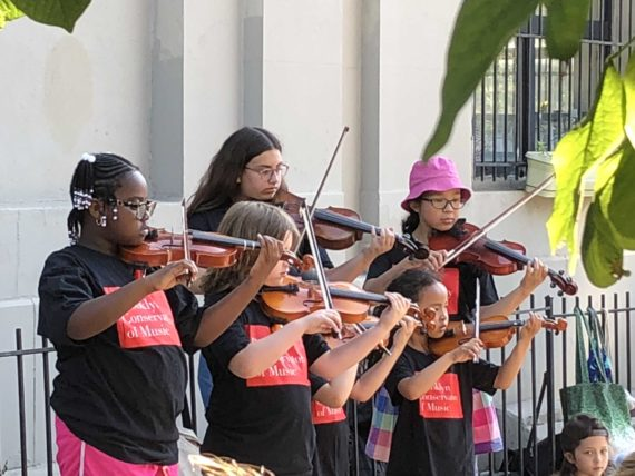 Suzuki students participate in Make Music New York