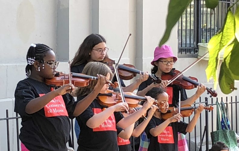 Suzuki students participate in Make Music New York